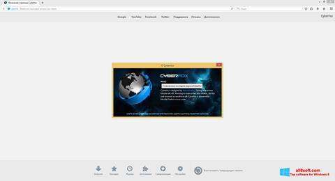 Screenshot Cyberfox Windows 8