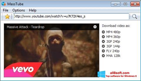 Screenshot MassTube Windows 8