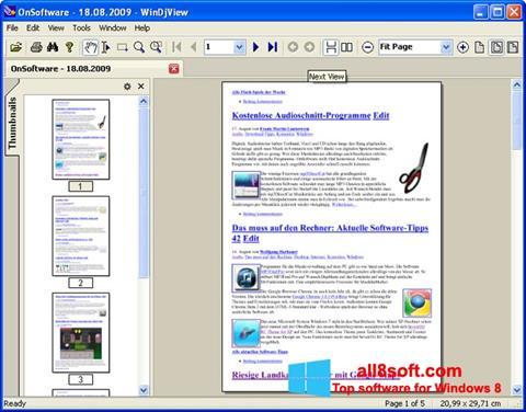 Screenshot WinDjView Windows 8