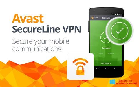 Screenshot Avast SecureLine VPN Windows 8