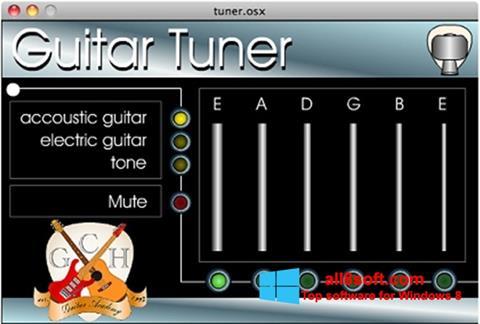 Screenshot Guitar Tuner Windows 8