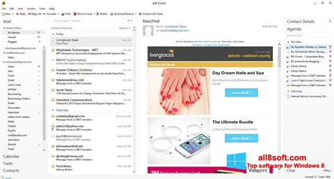 Screenshot eM Client Windows 8