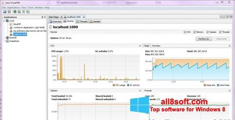 Screenshot Java Virtual Machine Windows 8