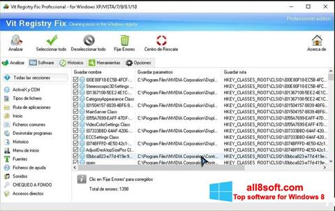 Screenshot Vit Registry Fix Windows 8