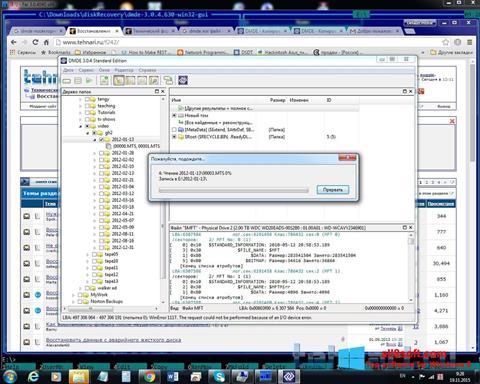 Screenshot DMDE Windows 8