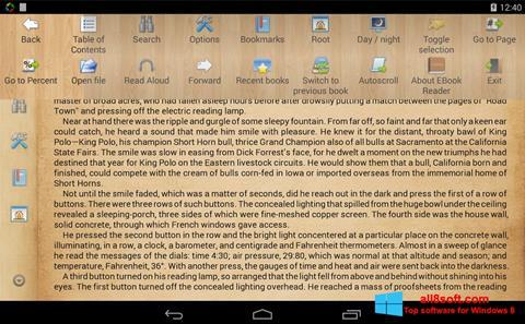 Screenshot Cool Reader Windows 8