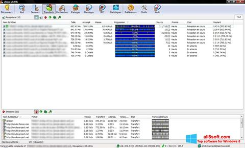 Screenshot eMule Windows 8
