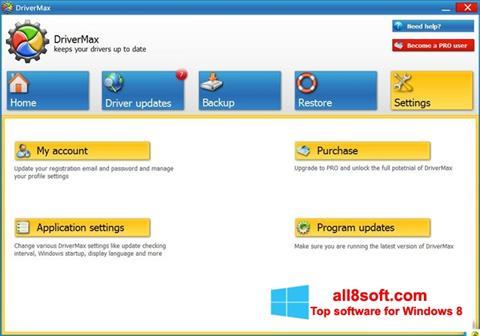 Screenshot DriverMax Windows 8