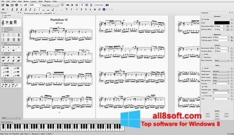 Screenshot MuseScore Windows 8