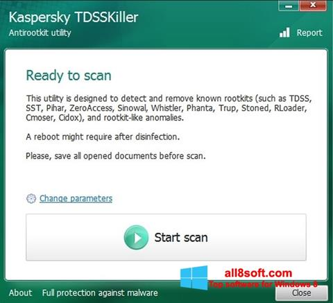 Screenshot Kaspersky TDSSKiller Windows 8