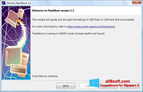 Screenshot FlashBoot Windows 8