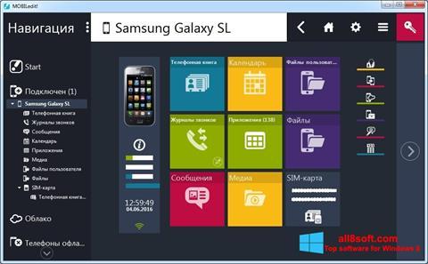 Screenshot MOBILedit! Windows 8