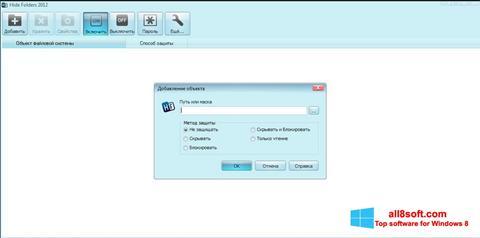 Screenshot Hide Folders Windows 8