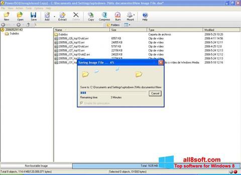 Screenshot PowerISO Windows 8