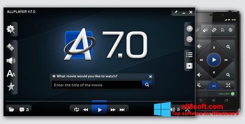 Screenshot ALLPlayer Windows 8