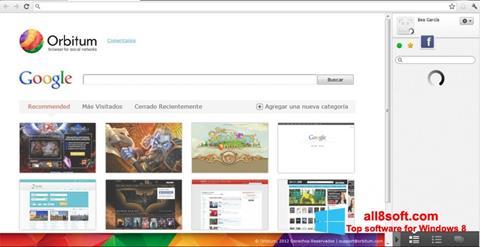 Screenshot Orbitum Windows 8