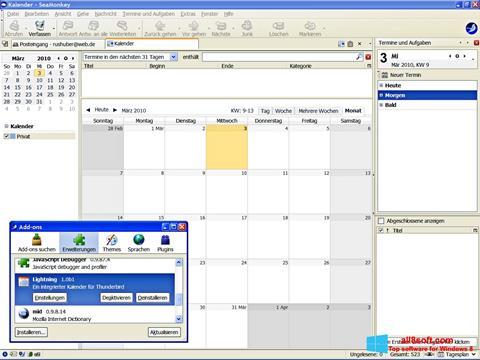 Screenshot SeaMonkey Windows 8
