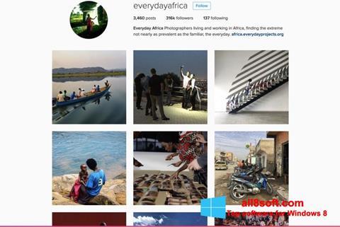 Screenshot Instagram Windows 8