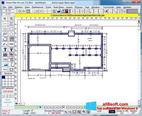 Screenshot Home Plan Pro Windows 8