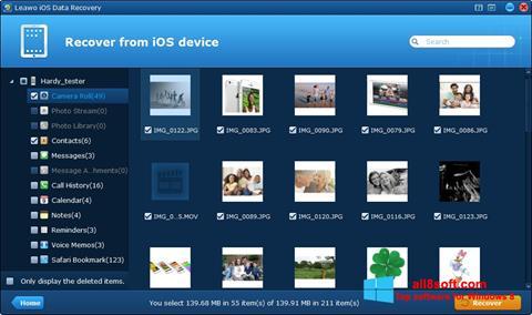Screenshot iPhone Data Recovery Windows 8