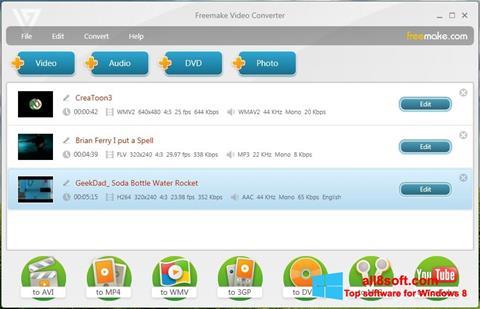 Screenshot Freemake Video Converter Windows 8