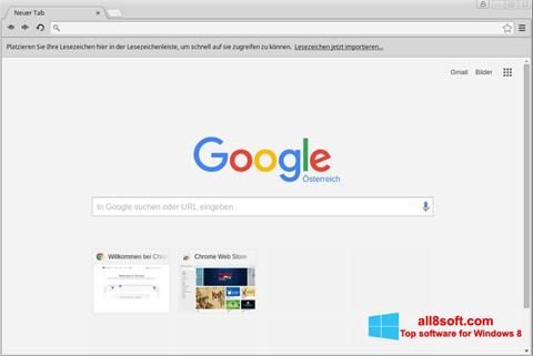 Screenshot Google Chrome Windows 8