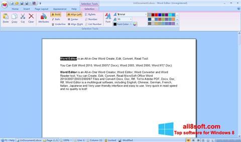 Screenshot DocX Reader Windows 8