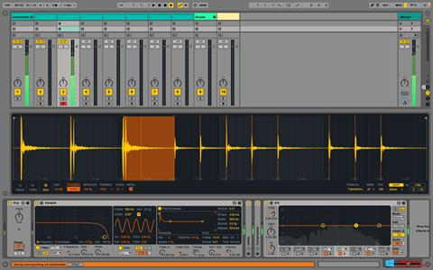 Screenshot Ableton Live Windows 8